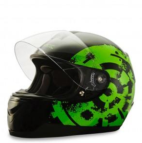 casque intégral vert fluo sturdy ksk