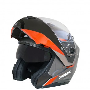 casque modulable orange ultimate ksk