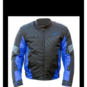 blouson moto scooter noir bleu cobalt ksk  KSK