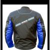blouson moto scooter noir bleu cobalt ksk