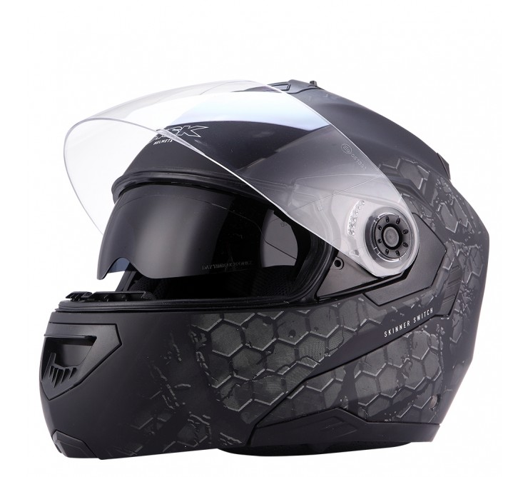Casque Skinner Switch Ksk Casque Modulable Moto Scooteo