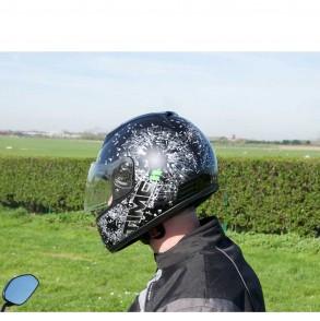 casque intégral décoré time shot ksk