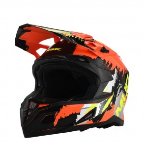 Casque Cross Mudbeast Orange  KSK