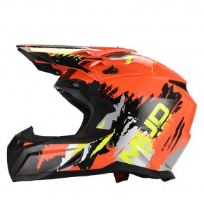 Casque Cross Mudbeast Orange