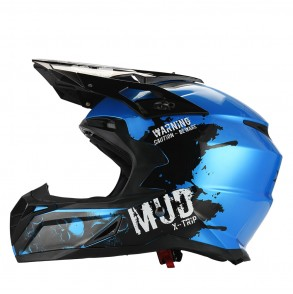 Casque Cross KSK Mud Blue