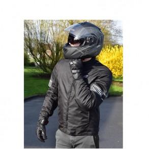 blouson moto scooter été noir radiant um