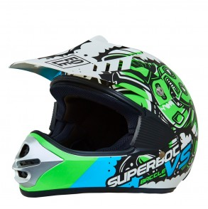 Casque cross enfant SUPERBOT