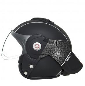 casque modulable noir mat vision moto ksk  KSK