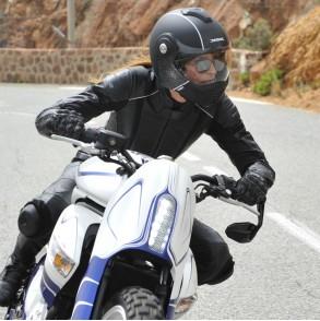 casque modulable noir mat vision moto ksk