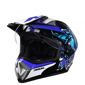 casque cross bleu iceberg ksk  KSK