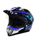 casque cross bleu iceberg ksk