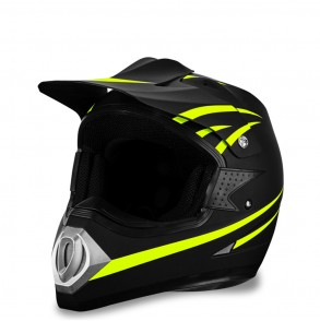 casque-cross-bright-jaune-eole-scooteo  Eole